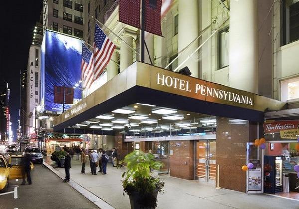 ニューヨーク ホテル ペンシルバニア , ニューヨーク ホテル