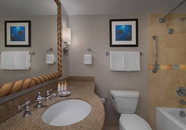 One- and Two-Bedroom Suite - Bathroom