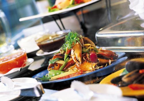 Sizzling fresh seafood at Lagoons