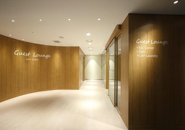 Guest Lounge Entrance