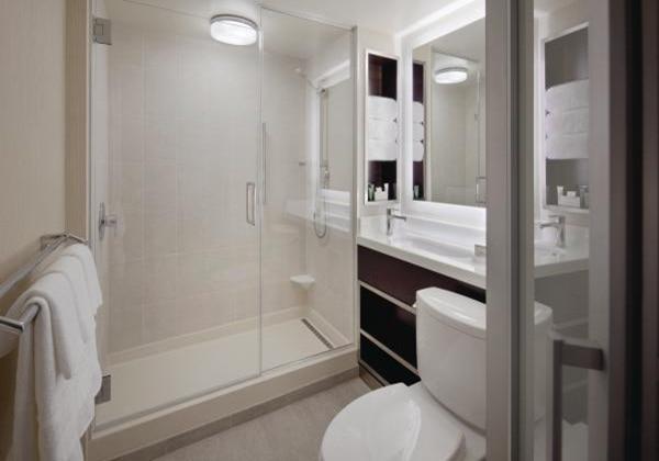 T3 Bathroom shower