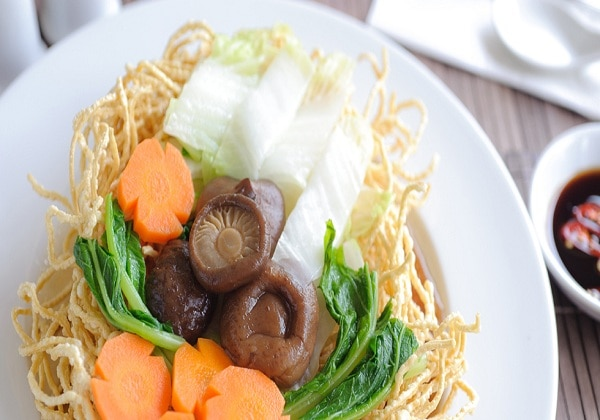 Vegetarian Food Buffet