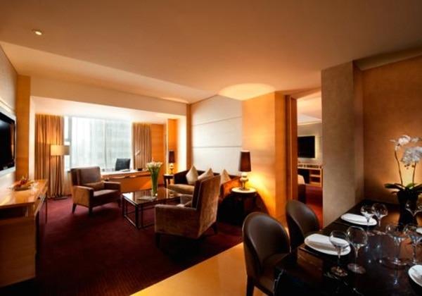 Deluxe suite T1 living area