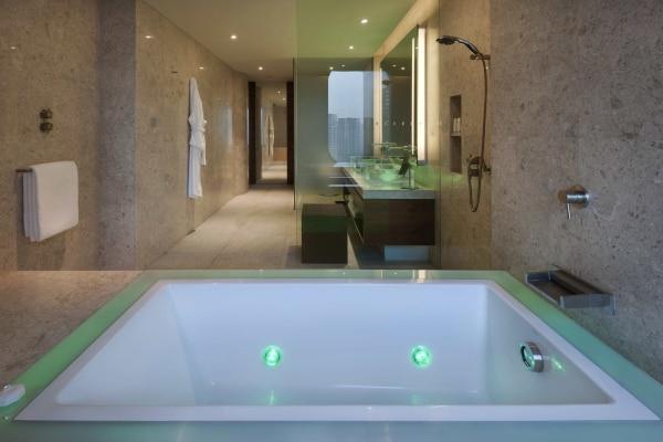 Andaz XL King bathroom
