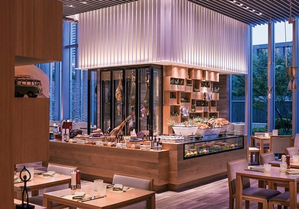 Cafe LIANG - Buffet Counter