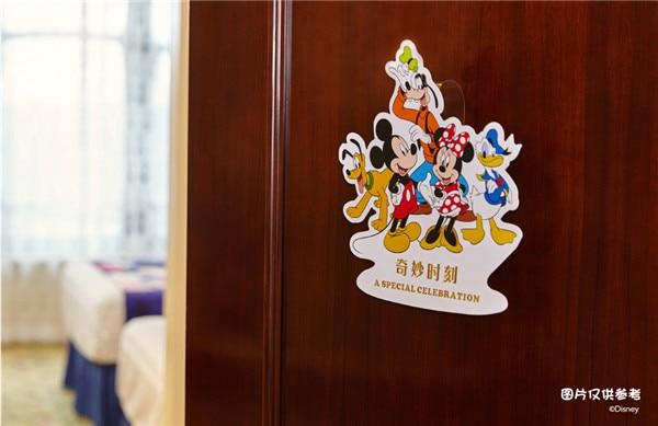 誕生日のミッキーとミニーのデコレーションルーム
