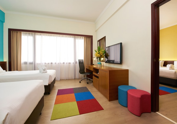 Village Hotel Bugis_Connecting Rooms_Mid