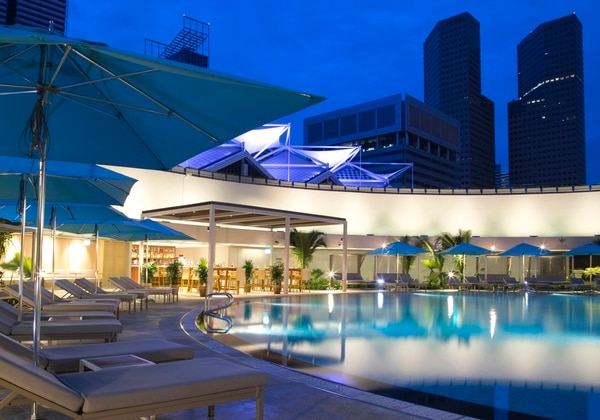Pan Pacific Singapore Swimming Pool (Nig