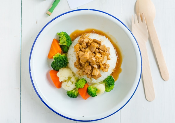 Shangri La kids chicken rice