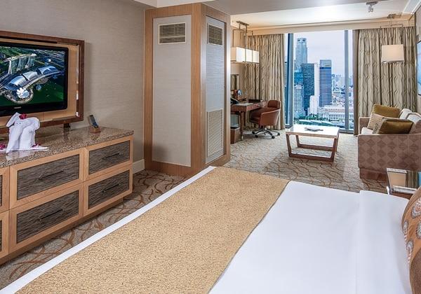 Deluxe City View 19階以上の高層階