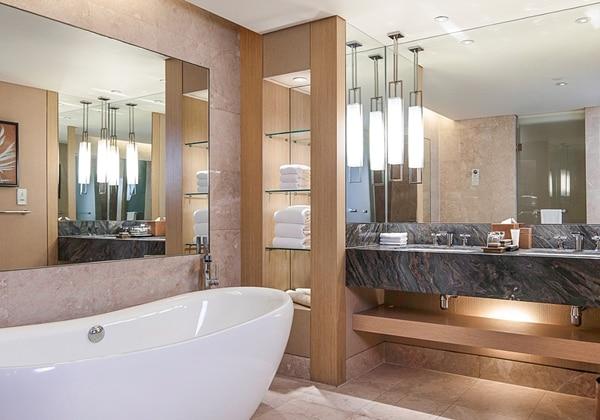 Sands Suite Garden Bathroom