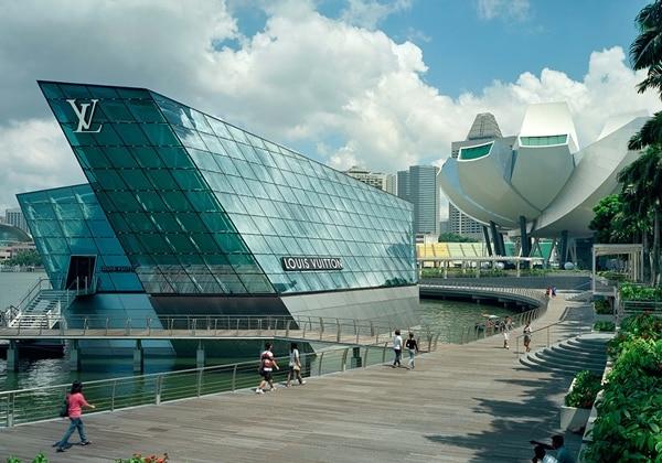 Marina Bay Sands public area
