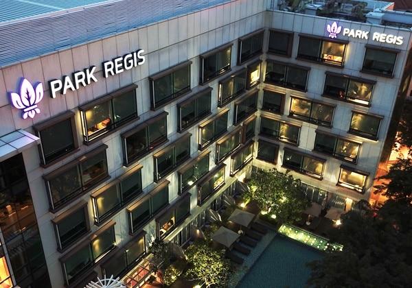Regis Room balcony
