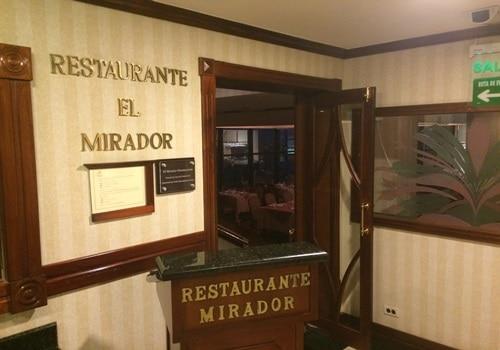"""レストラン""""El Mirador"""""""
