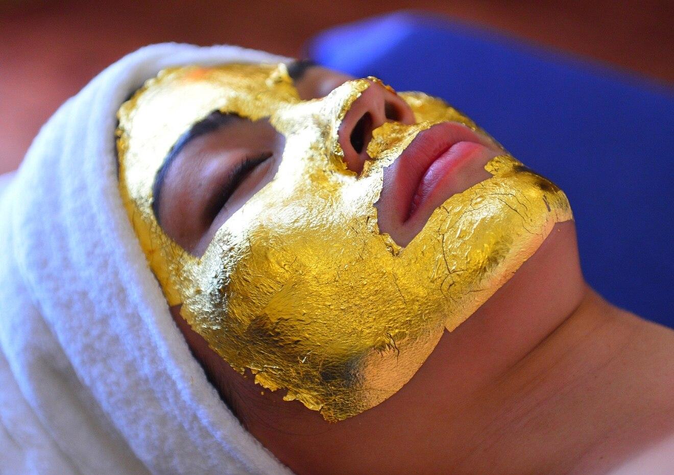 ゴールドリーフフェイシャルマスク