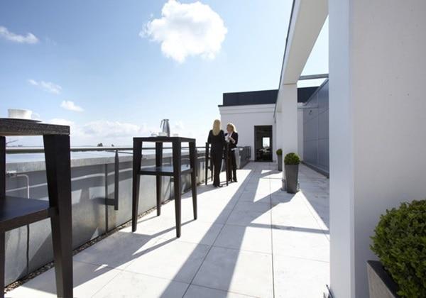 Panoramasaal Terrasse