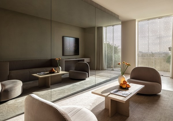 One-Bedroom Executive Suite - Living Roo