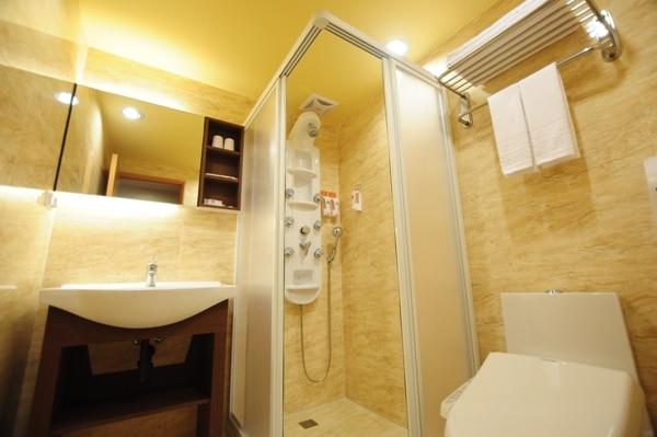浴室-デラックスルーム