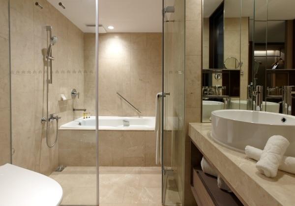 Deluxe Twin Bathroom