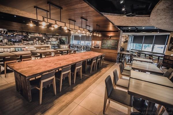 レストラン(朝食場所)