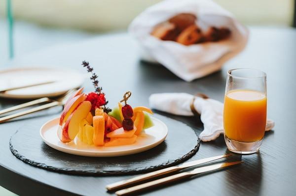 朝食サンプル