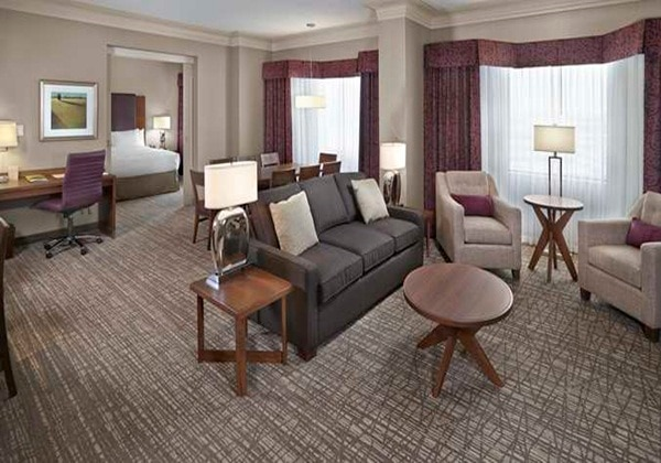 1KING PULLOUT COUCH HOSPITALITY SUITE