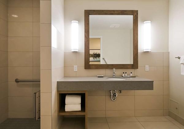 Accessible Suite Guest Bathroom