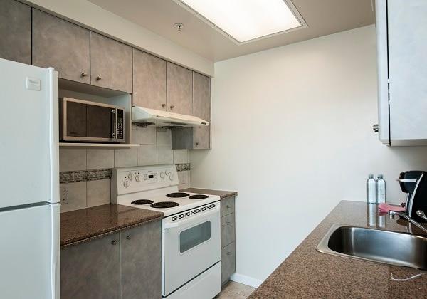 Standard One-bedroom Suite - Kitchen