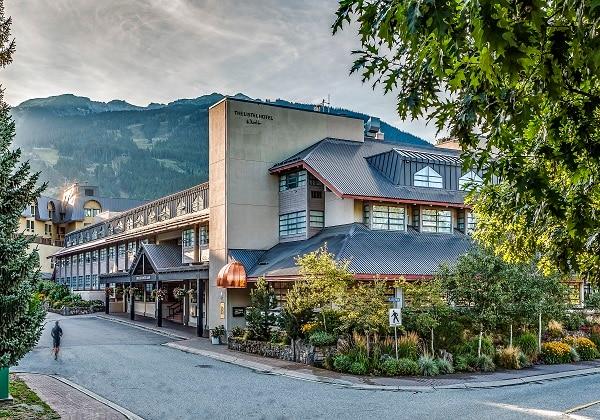 Listel Hotel Whistler Fall