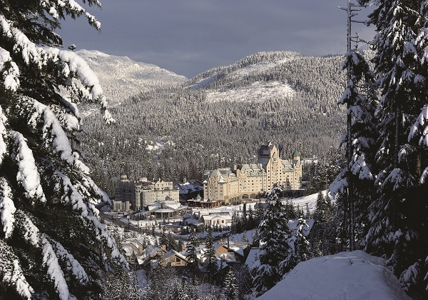 Chateau Whistler winter